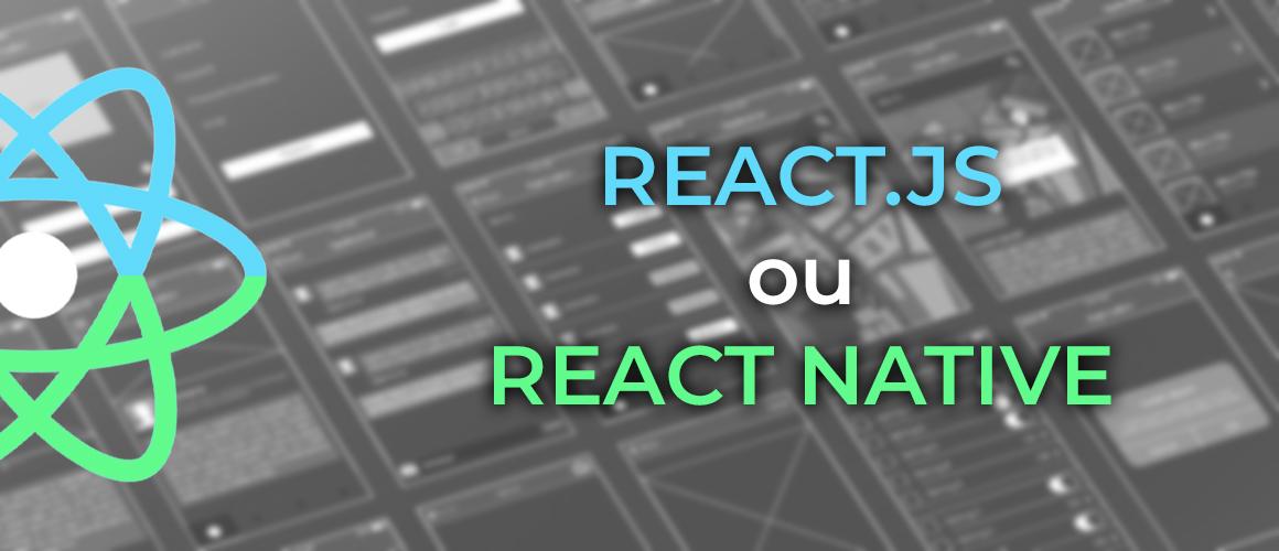 bannière react native react.js