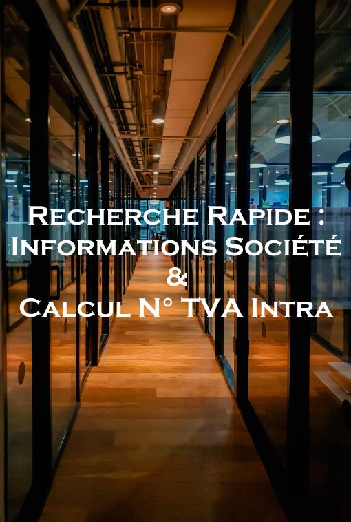 Recherche Société TVA